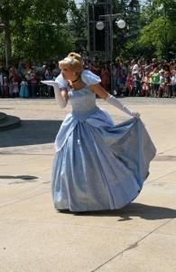 The stunning Cinderella