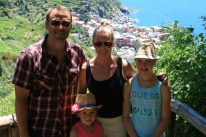 One of our 'Must See' moments, the Cinque Terre Trail