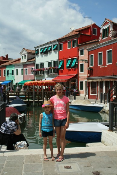 The Girls in Burano