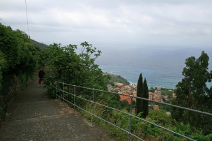 View along the way