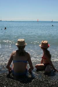 Deiva Marina Beach, Italy