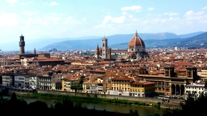Florence from Piazza Michaelangelo