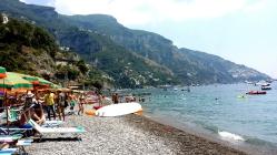 Fornillo Beach, Positano, Italy