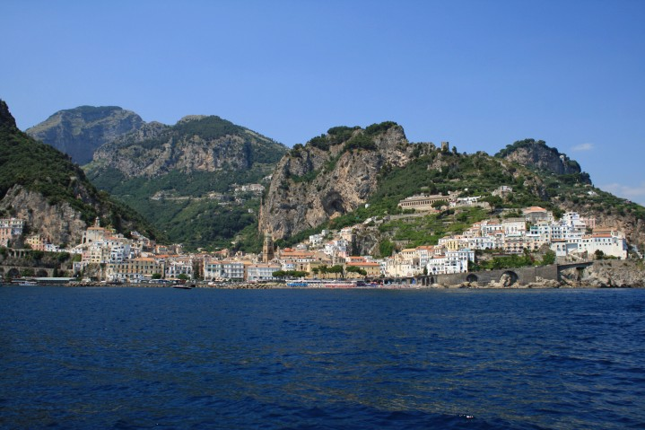 Amalfi Coast from the Ferry
