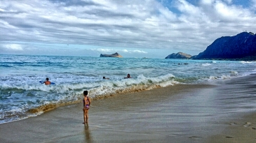 Waimanallo Beach, Oahu