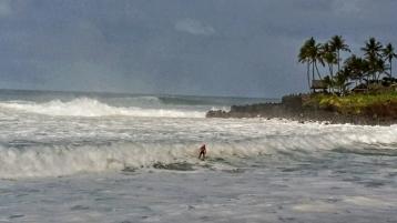 Heading into Shore