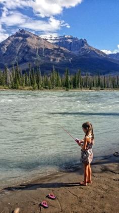 Fishing, Alberta, Canada