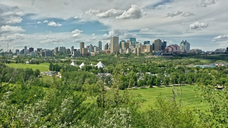 Downtown Edmonton, Alberta