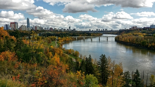 River Valley, Edmonton, Alberta