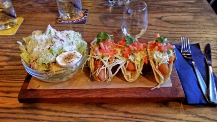 Fish Tacos from National on 10th, Calgary