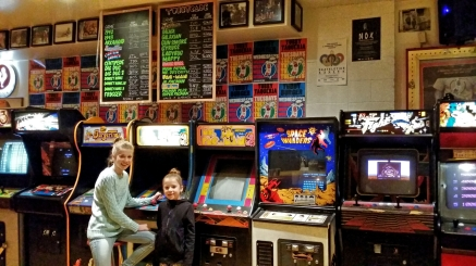 Arcade Games, Tubby Dog, Calgary