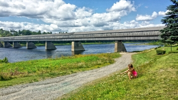 Hartland Covered Bridge, New Brunswick, Canada