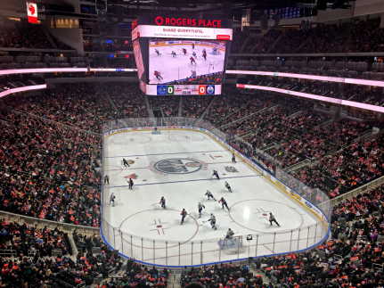 Edmonton Oilers Game, Rogers Place